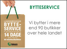 bytteservice med ramme